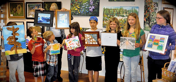 Youth Art Contest Winning Entries