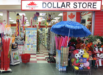 Photograph of Great Canadian Dollar Store