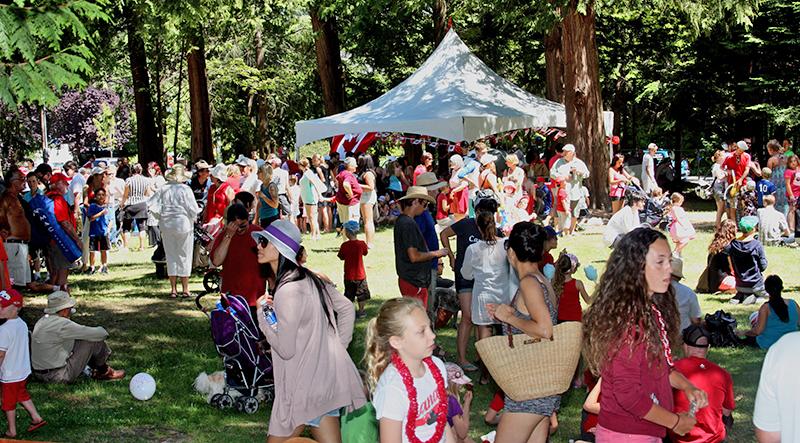 Hackett Park Canada Day