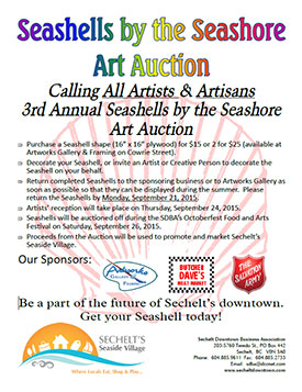 Seashells by the Seashore Auction